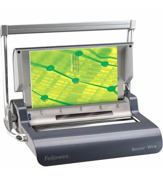 WIRE BINDER FELLOWES QUARSAR (135 pages)