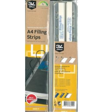Self Adhesive Filing Strips 3L 8804-100.