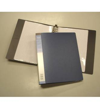 A5 Clear Holder File refillable 30 pockets Ctr A530
