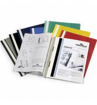 A4 Quotation file with front pocket.Durable 2579.
