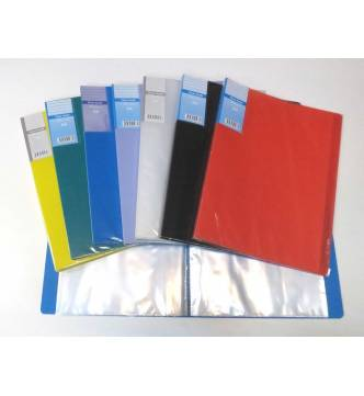 A4 Clear Holder File 10 pockets.