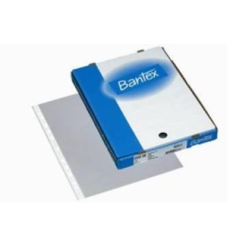 Bantex 2040- A4 PP(0.06mm) Top-open Copy-safe, Gloss clear.