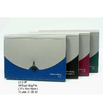 A4 Expanding 12 pocket File Elsoon 818F.