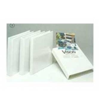 Clear cover ring file A4 2D 1½ inches (25mm capacity).