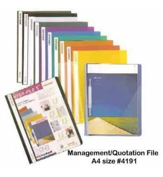 A4 Quotation Management File Leitz 4191.