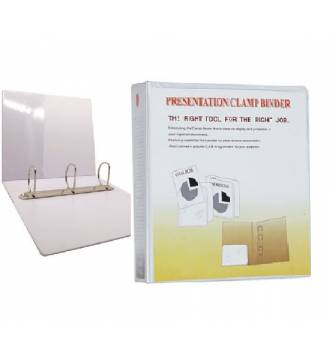 Clear cover ring file A4 3D 1 inch (20mm capacity).