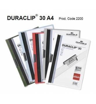 A4 Clip Management Files Duraclip 2200.