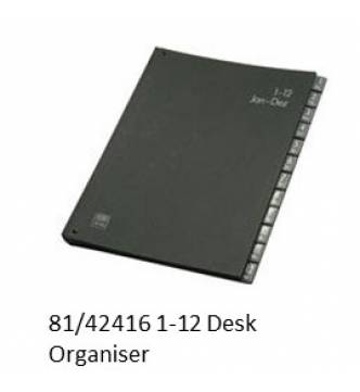 Desk Organiser(Signature book)1~12, Jan~Dec ELBA 42416