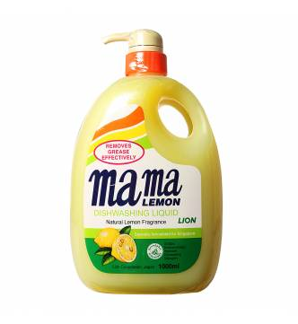 Mama Lemon Dishwashing Liquid-1 Litre