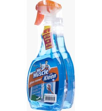 Mr Muscle Glass Cleaner 500ml (Value Pack)