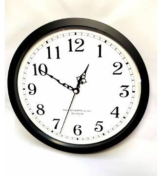 Wall Clock 12 inches. OSTF33312BK