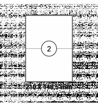 210 x 148 mm InkJet,Laser,Copier Labels .Mayspies 090025