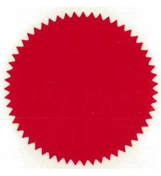 Common Seal Sticker 51mm Diameter. S0051