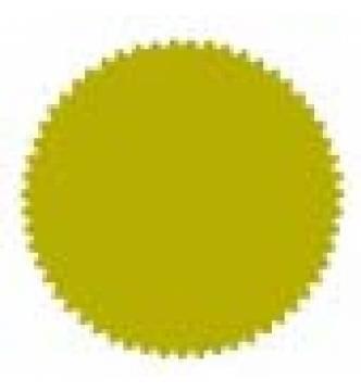 Gold Seal Sticker 50 mm Diameter. GS0051