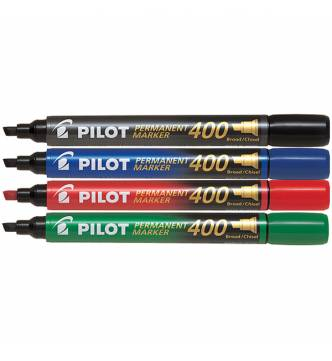 Pilot SCA 400 Permanent Marker  -Flat tipped.