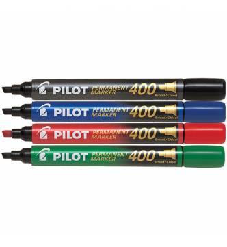 Pilot SCA 400 Permanent Marker  -Flat tipped.