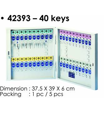 Steel Key Box 40 keys.KB-42393