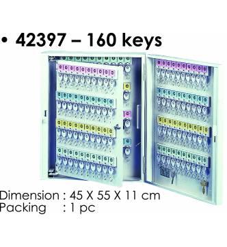 Steel Key Box 160 keys.KB-42397