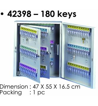 Steel Key Box 180 keys.KB-42398