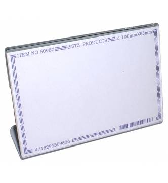 Acrylic Card Stand 100 X 65mm,50980