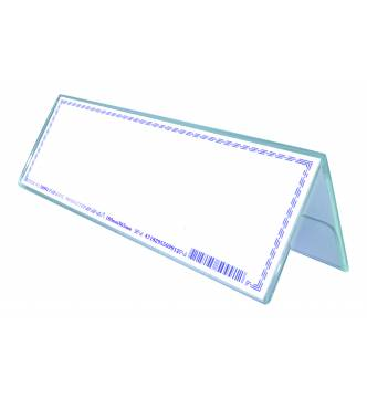 Acrylic 2 Sided Card Stand 180 X 65mm,50991