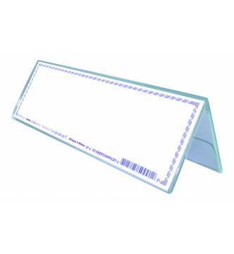 Acrylic 2 Sided Card Stand 250 X 80mm,50992