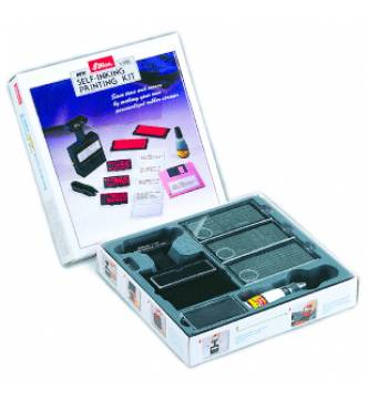 Self ink rubber stamp kit, Shiny S-600N