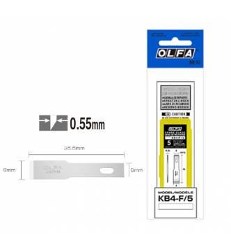 OLFA Blades KB4 F5 (for OLFA AK-3.AK-5).