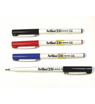 Medium Point Artline 210 Sign Pen.