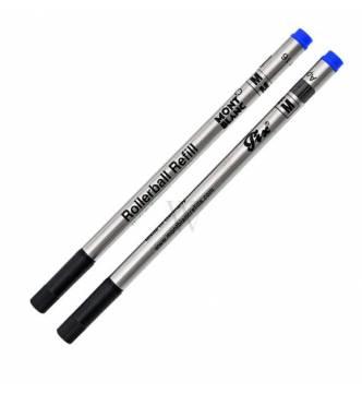 Mont Blanc  Roller ball pen refill-Blue Fine