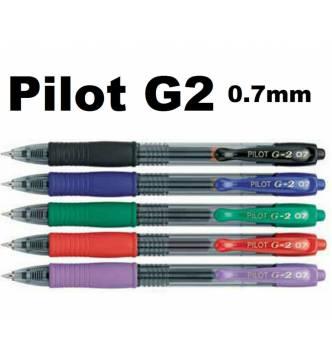 Pilot G2 7 Retractable Gel Ball Pen 0.7mm.
