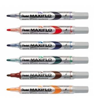 Pentel White board marker (Bullet tipped) MWL5S.