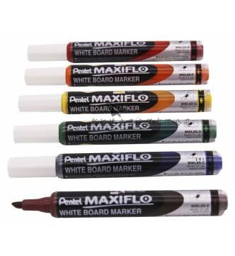 Pentel White board marker (Chisel tipped) MWL6S.