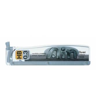 Pencil lead 0.3mm Pentel C253 Hy-Polymer.