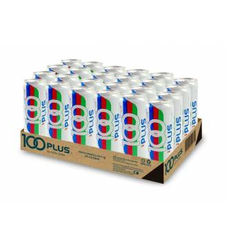 100 Plus Isotonic Canned Drink Original 24s X 325ml