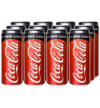 Coke Zero canned drink 12 x 320ml