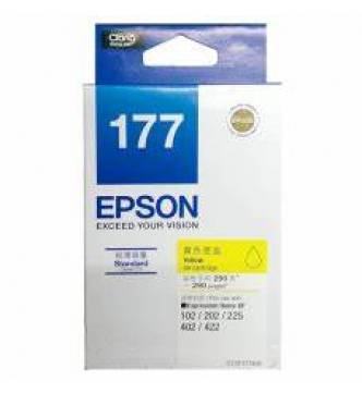 Epson 177 Ink Cartridge Yellow T177490