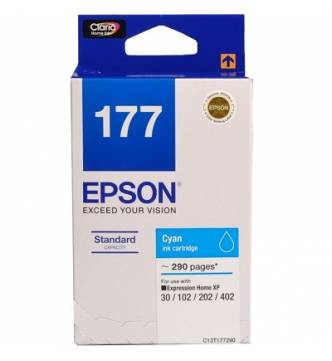 Epson 177 Ink Cartridge Cyan T177290