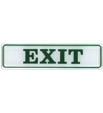 EXIT Plastic Sign.D203