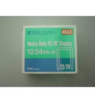 Max staple 2324 / 1224-24mm. (1000's)