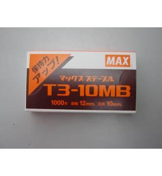Max Gun Tacker Staple T3-10MB