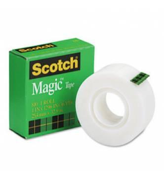 Scotch Magic Tape 3M 810,  1' x 36 yd.