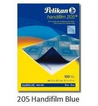 Carbon Paper Film type for Hand writing, Pelikan 205 Blue
