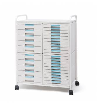 Sysmax 35 Drawer Carriage File Cabinet 1730K
