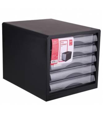 5 Drawer File Tray. Deli 9775