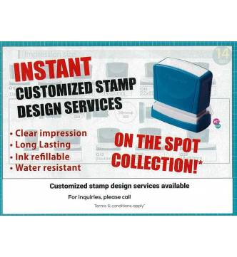 Instant Stamp Walk In and Collect