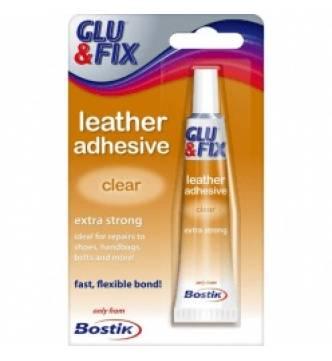 Leather Adhesive. Bostik Glu & Fix  20ml