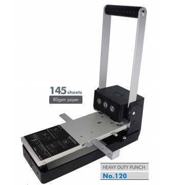 2 Hole Heavy duty punch. Carl MD 120, 13.5mm (130 sheet capacity)