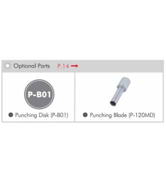 Carl MD 120 Punch replacement cutter.