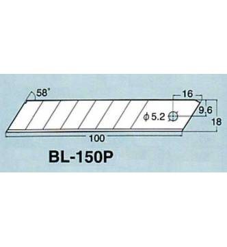 Cutter Blades Large NT L150.